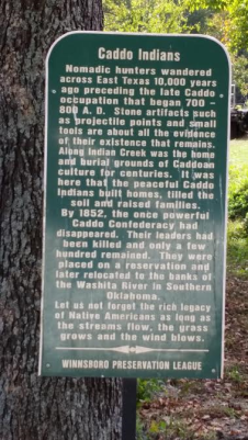 caddo-indians-sign-winnsboro-tx